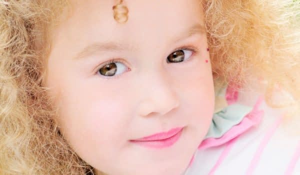 Children's portrait by children's portrait photographer in the south of france