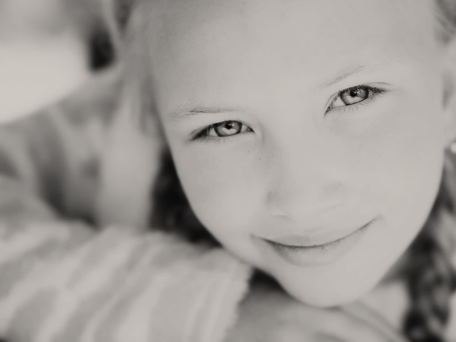 Pre teen portrait by portrait photographer on The Coted'Azure