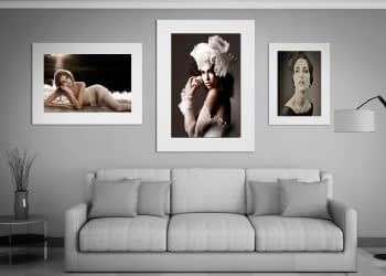 Stunning portrait by portrait photographer on The Coted'Azure