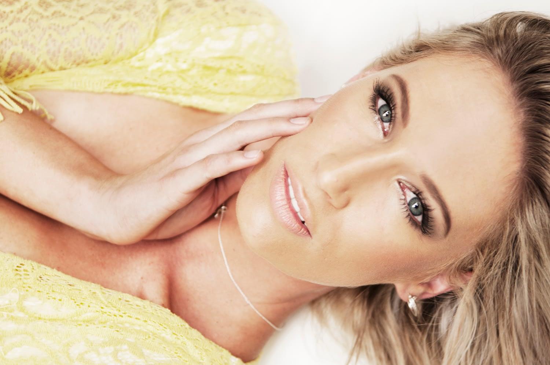 Models portfolio portrait by model photographer in Monaco