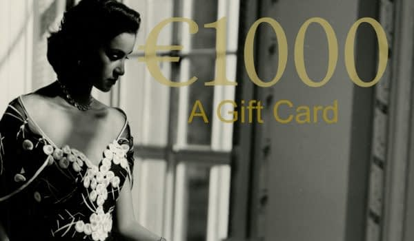 Portrait photographer in Monaco gift card